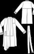 Тренчкот з асиметричним низом і шалевим коміром - фото 3