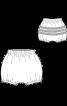 Трусики-панталони з рюшами - фото 3