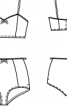 Труси і бюстьє на тонких бретелях - фото 3