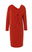Сукня трикотажна прямого силуету - фото 2