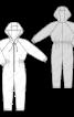 Комбінезон трикотажний з капюшоном - фото 3