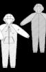 Комбінезон трикотажний з кишенею-кенгуру - фото 3