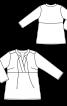 Туніка шовкова з декоративними ланцюжками - фото 3