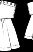 Туніка із застібкою на плечі - фото 3