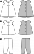 Сукня А-силуету і трикотажні штанці - фото 3