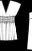 Туніка і топ силуету ампір - фото 2