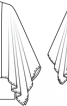 Туніка з широкими рукавами - фото 3