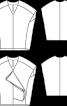 Туніка оригінального крою з воланом - фото 3