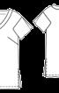 Туніка прямого крою з розрізами - фото 3