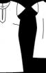 Туніка жакардова приталеного силуету - фото 3