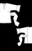 Туніка з воланами на рукавах та зав'язками на талії - фото 3
