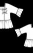 Туніка з асиметричною застібкою - фото 3