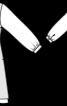Туніка силуету ампір із довгими рукавами - фото 3
