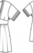 Сукня відрізна з широким поясом - фото 3