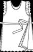 Туніка з високими боковими розрізами - фото 3