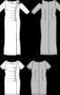Сукня трикотажна з бретеллю на одне плече - фото 3
