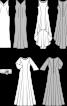 Сукня шифонова з асиметричним нижнім краєм - фото 3