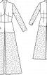 Сукня весільна з високим коміром - фото 3
