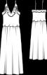 Сукня весільна на бретелях спагеті - фото 3