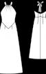 Сукня весільна довга з відкритими плечима  - фото 3
