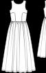 Сукня весільна з глибоким вирізом на спинці - фото 3