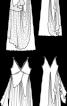 Сукня весільна двошарова силуету ампір - фото 3