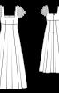 Сукня весільна силуету ампір - фото 3