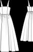 Сукня весільна з ліфом-корсажем - фото 3