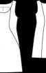 Сукня-футляр для нареченої - фото 3