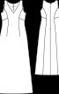 Сукня довга весільна приталеного силуету - фото 3