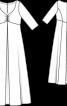 Сукня весільна силуету ампір і з глибоким вирізом - фото 3