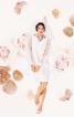 """Весільна сукня силуету """"балон"""" з прозорими рукавами - фото 1"""