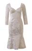 Весільна сукня з серцеподібним вирізом - фото 2
