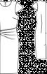 Сукня-футляр з рукавами-крильцями - фото 3