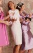 Сукня-футляр з воланом - фото 4