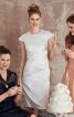 Сукня-футляр з рукавами-крильцями - фото 1