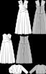 Жакет болеро із тканини з пайєтками - фото 3