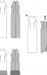 Сукня максі з американськими проймами - фото 3