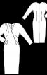Сукня вузького крою в стилі ретро - фото 3