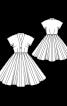 Сукня вінтажна з Burda Moden 6/1955 - фото 3