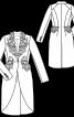Жакет-фрак з жакардової тканини - фото 3