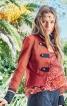 Жакет приталеного крою в армійському стилі - фото 1
