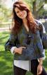 Жакет короткий А-силуету з рукавами 3/4 - фото 1