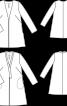 Жакет трикотажний А-силуету - фото 3