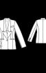 Жакет-блейзер приталеного силуету - фото 3