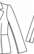 Блейзер однобортний приталеного силуету - фото 3