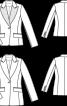 Блейзер приталеного силуету - фото 3