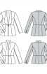 Жакет відрізний приталеного силуету - фото 6