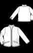 Куртка стьобана прямого крою - фото 3
