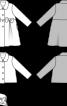 Жакет плюшевий з відкладним коміром - фото 3